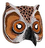 Unbekannt Eulen Elue Owl Maske Handbearbeitet