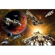 8-teilig Destroyer Deck Star Wars Foto-Tapete Star Wars Größe 368x254 cm
