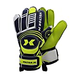 Vector X Advance Goalkeeping Gloves, Size 10 (Yellow/Black)