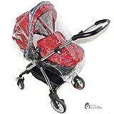 Regenschutz Kompatibel mit ABC Design Mamba, Plus Babytragetasche (198)