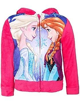 Disney Frozen Die Eiskönigin Jacke für Kinder, sehr flauschig, pink, Gr. 104-128