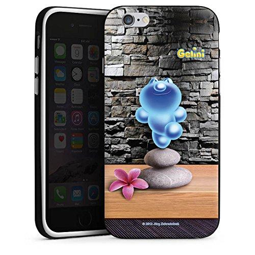 Apple iPhone X Silikon Hülle Case Schutzhülle Gelini Gummibärchen Steine Silikon Case schwarz / weiß
