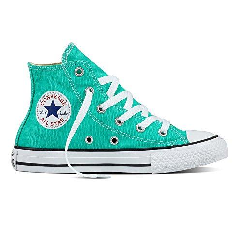 Converse Ctas Hi, Sneakers Mixte Enfant vert