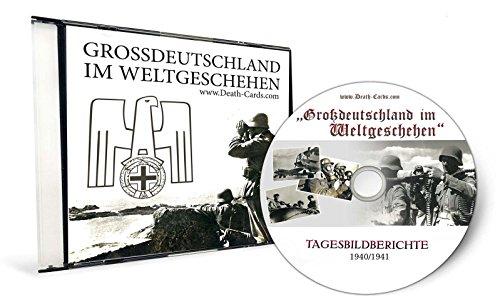 2.Weltkrieg - FOTO CD - 2 x FOTOALBUM GROSSDEUTSCHLAND IM WELTGESCHEHEN AUF CD 1940 + 1941