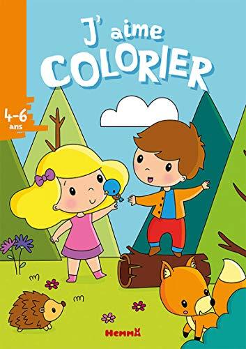 J'aime colorier (4-6 ans) (Forêt)