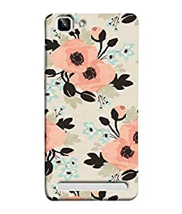 Fuson Designer Back Case Cover for Vivo X5Max :: Vivo X5 Max (Graffiti Floral Leaves Girly Cute Teeange Young)