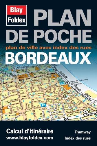 Bordeaux, Plan de poche
