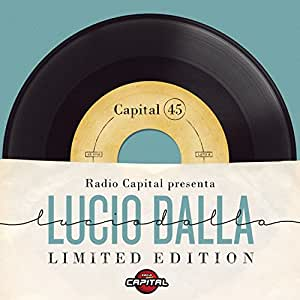 "Radio Capital Presenta: Lucio Dalla Limited Edition [4 LP 7"" 45 Giri]"