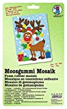 Ursus 8770027F - Moosgummi Mosaik, Elch, ca. 23 x 16 cm