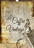 Le coffre vintage 2020: Collages decoratifs d'anciens objets...