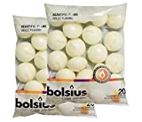BOLSIUS 20 FLOATING CANDLES [Ivory] x 2