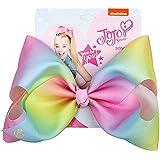 JOJO Siwa Large Pink Rainbow Signature Hair Bow - Party Favor -