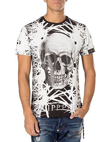 PHILIPP PLEIN - Herren T-Shirt RIGHT CHOICE Schwarz