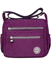 91822ec199 Amazon.co.uk  Purple - Cross-Body Bags   Women s Handbags  Shoes   Bags