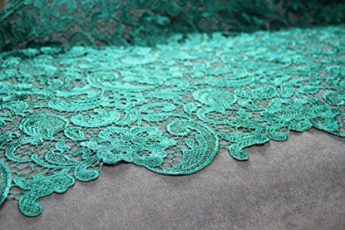 G1Jade Guipure-Spitze Bridal Spitze 120cm wide-sold von 1/2yard (Jade Brautkleider)
