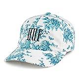HUF Gorra de béisbol Highline con Visera Curvada Blanco-Azul - Ajustable