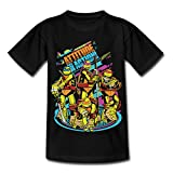 Photo de Tortues Ninja Attitude for Action T-Shirt Enfant par Spreadshirt