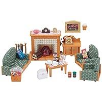 Sylvanian Families 5037 Deluxe Living Room Set, Multicolor