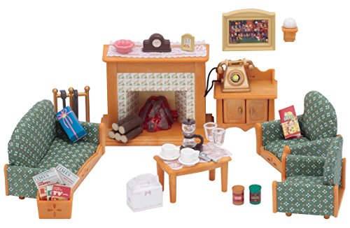 Sylvanian Families- Deluxe Living Room Set Mini Muñecas Y Accesorios, Multicolor (Epoch...