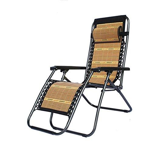 Fauteuils inclinables LHA Chaise Pliante, Pause-déjeuner, Chaise de Sieste, Chaise, Chaise paresseuse, Chaise Longue multifonctionnelle de Plage (Couleur : Multicolore)