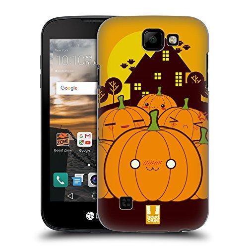 �rbis Im Ganzen Halloween Kawaii Ruckseite Hülle für LG K3 (Einfache Kürbis-halloween-designs)