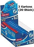 Tippex 7500 Pocket Mouse Korrekturroller (weiß, 3 Kartons / 30 Stück)