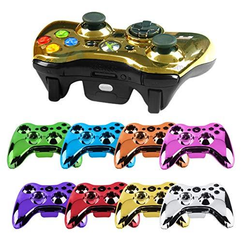 Jasnyfall Wireless Controller Shell Fall Stoßstange Thumbsticks Tasten Spiel für Xbox 360-Farbe: rot (Xbox Und 360-controller Shell)