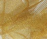 Prestige Lurex Ultra steif Metallic/Glitter Nylon Net Stoff