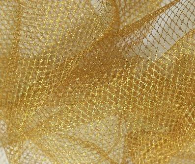 Prestige Lurex Ultra steif Metallic/Glitter Nylon Net Stoff Kleid Netz die Pantomime Kostüme/Fee Kleid Röcke-Meterware - Prestige Kostüm