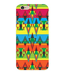 ColourCraft Tribal Pattern Design Back Case Cover for APPLE IPHONE 6S PLUS