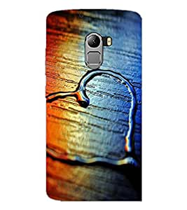 PrintDhaba Heart D-2069 Back Case Cover for LENOVO VIBE X3 LITE (Multi-Coloured)