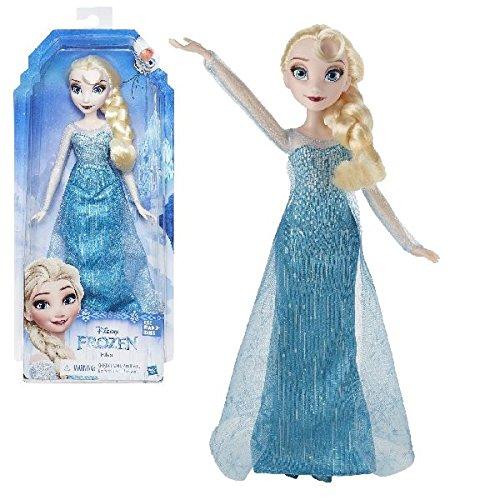 Figur Disney Kleider (Hasbro Disney Die Eiskönigin B5162ES2 - Disney Die Eiskönigin Elsa,)