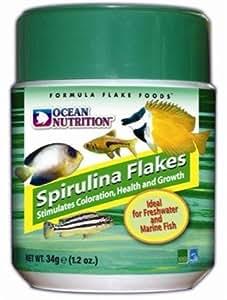 OCEAN NUTRITION Spirulina Flakes Flakes 34g