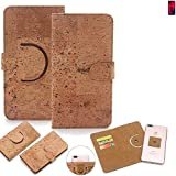 K-S-Trade 360° Cover cork Case for Huawei P20 Pro Dual-SIM