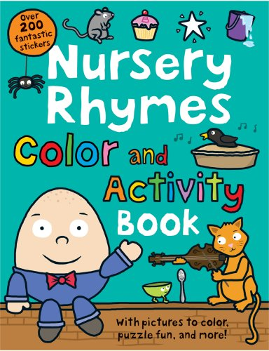 Nursery Rhymes Color and Activity Book por Roger Priddy