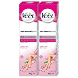 Veet Hair Removal Cream for Normal Skin, 100 GM (Pack of 2)