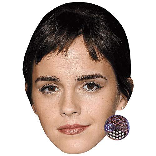 Celebrity Cutouts Emma Watson (Fringe) Maske aus Karton (Watsons Maske)