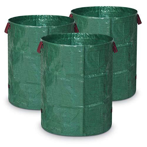 Navaris Set 3X Sacos Reutilizables jardín - Resistente