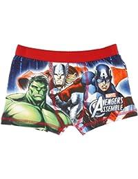 Marvel Avengers Assemble Boxer pour garçon-Rouge