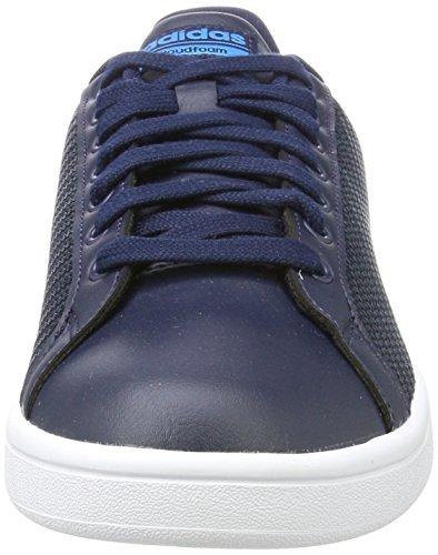 adidas Herren Cloudfoam Advantage Sneaker Blau (Collegiate Navy/collegiate Navy/solar Blue)
