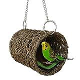 Yunt Vogel Nest Natürliche Gras Tunnel Schlafplatz für Hamster Sittiche