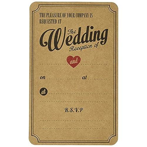 Wedding Reception Invitations Amazoncouk