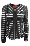 Sportalm Damen Blazer Balina Stripes Größe 38 Schwarz (schwarz/weiß)