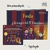 MY MAGIC STORY Caja Regalo - La Magia del FCBarcelona - Libro Personalizado para niños - ¡Incluye...
