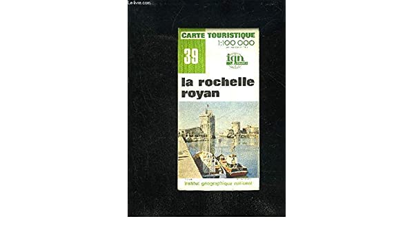 Carte La Rochelle Royan.Amazon Fr La Rochelle Royan Carte Ign N 39 Collectif