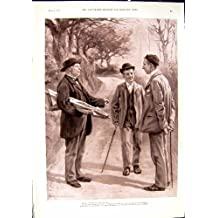Golf 1901 de Graham d'Aquarium populaire de Spectateurs d'Epsom Rhona Adair Norah Dillon Irlande