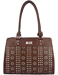 Kovi Shaheen Women's Handbag (Brown)