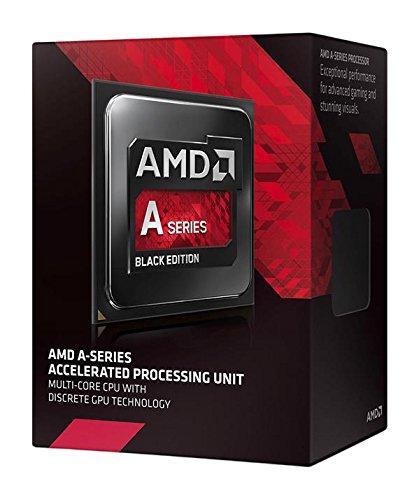 AMD APU Quad-Core-CPU, A87670,K Black Edition, SBX, 3,60GHz (Amd Quad-core-prozessor)
