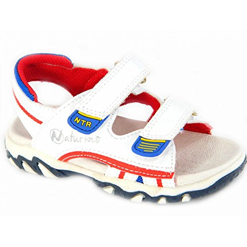 Naturino - Naturino sandalo bianco bambino 383 - Bianco, 26