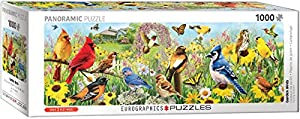 Eurographics 60105338 - Puzle de jardín, diseño de pájaros